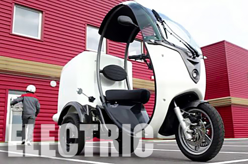 Electric Delivery Bike Trike From Matra