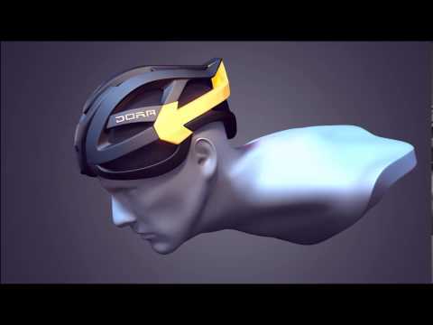 Bike Helmet With Bike Turn Signals