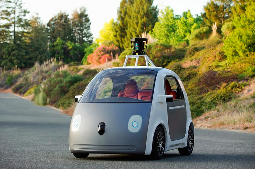 first google self driving car