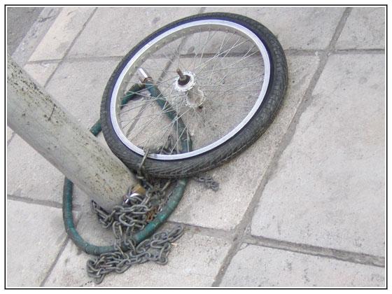 bike thievery