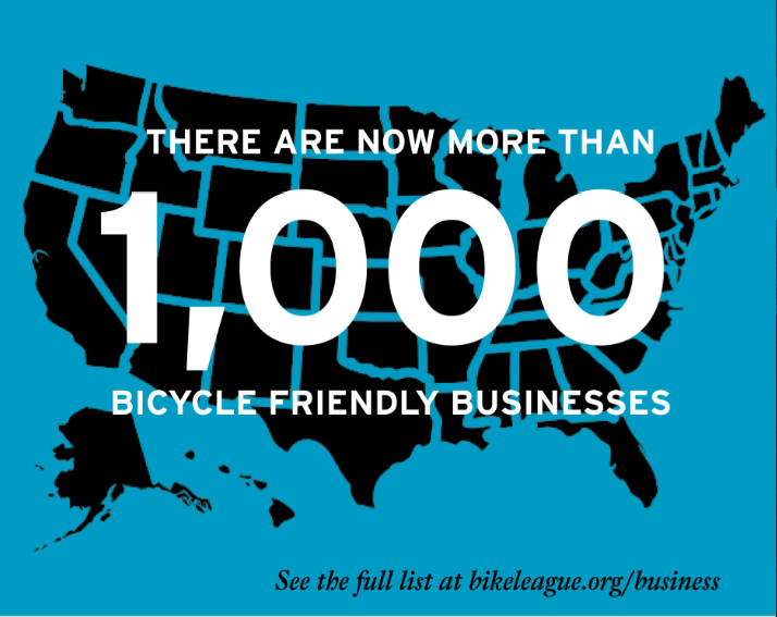 bike friendly businesses