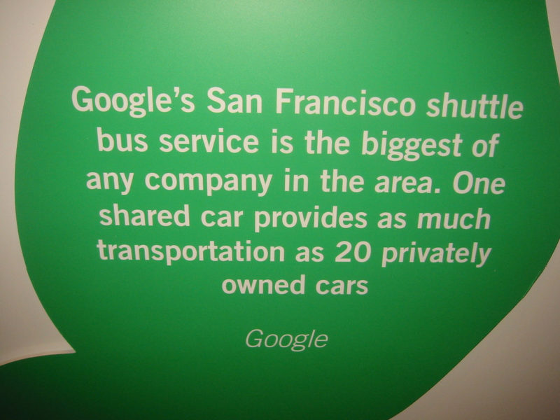 Google Shuttle Bus
