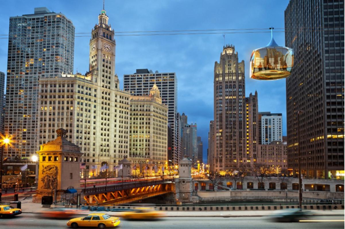 Sky Gondola Chicago 3