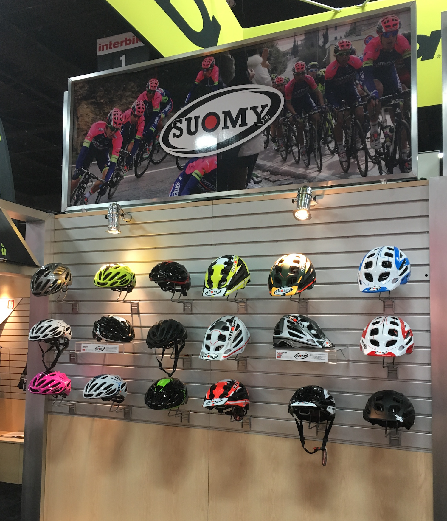 suomy at Interbike 2016