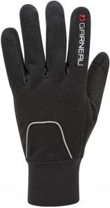 garneau biking gloves with reflective piping