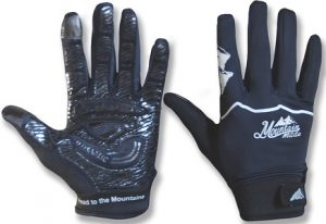 mountain made black biking gloves