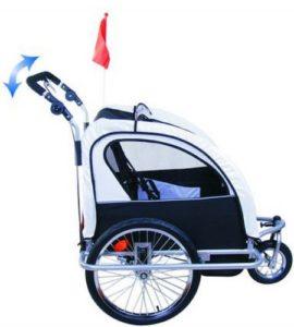 aosom elite bike trailer