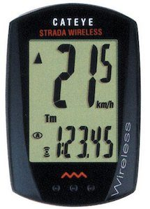cateye strada wireless bike computer