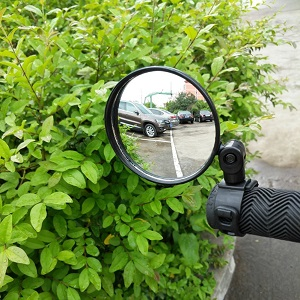 2 pack glass bike mirror